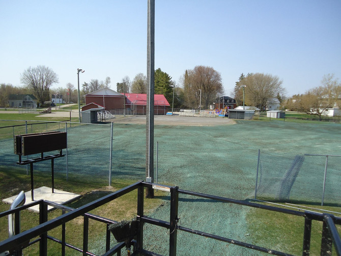 Hydroseeding Athletic Field