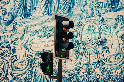 Porto Azulejos Fassade