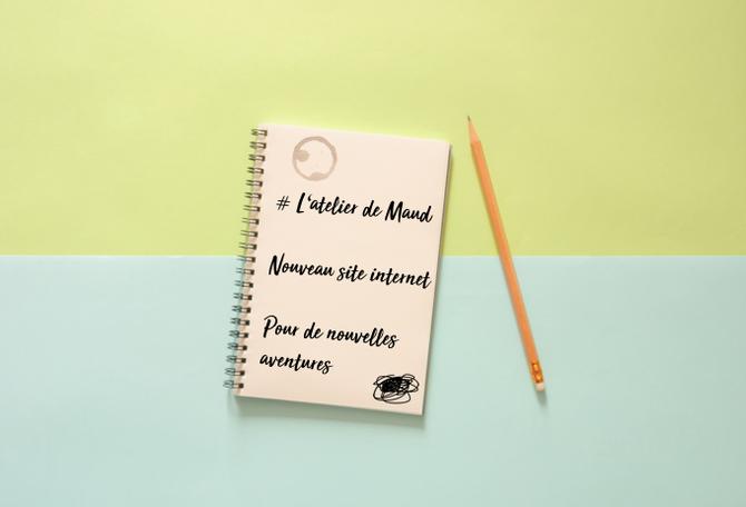 L'Atelier de Maud change de site internet