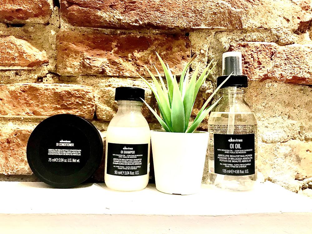 nosmini-produits OI :conditionner 9€,shampoo 9€, huile 135mL 34€