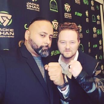 Sunny Singh and Shaun Burrows at the Jac