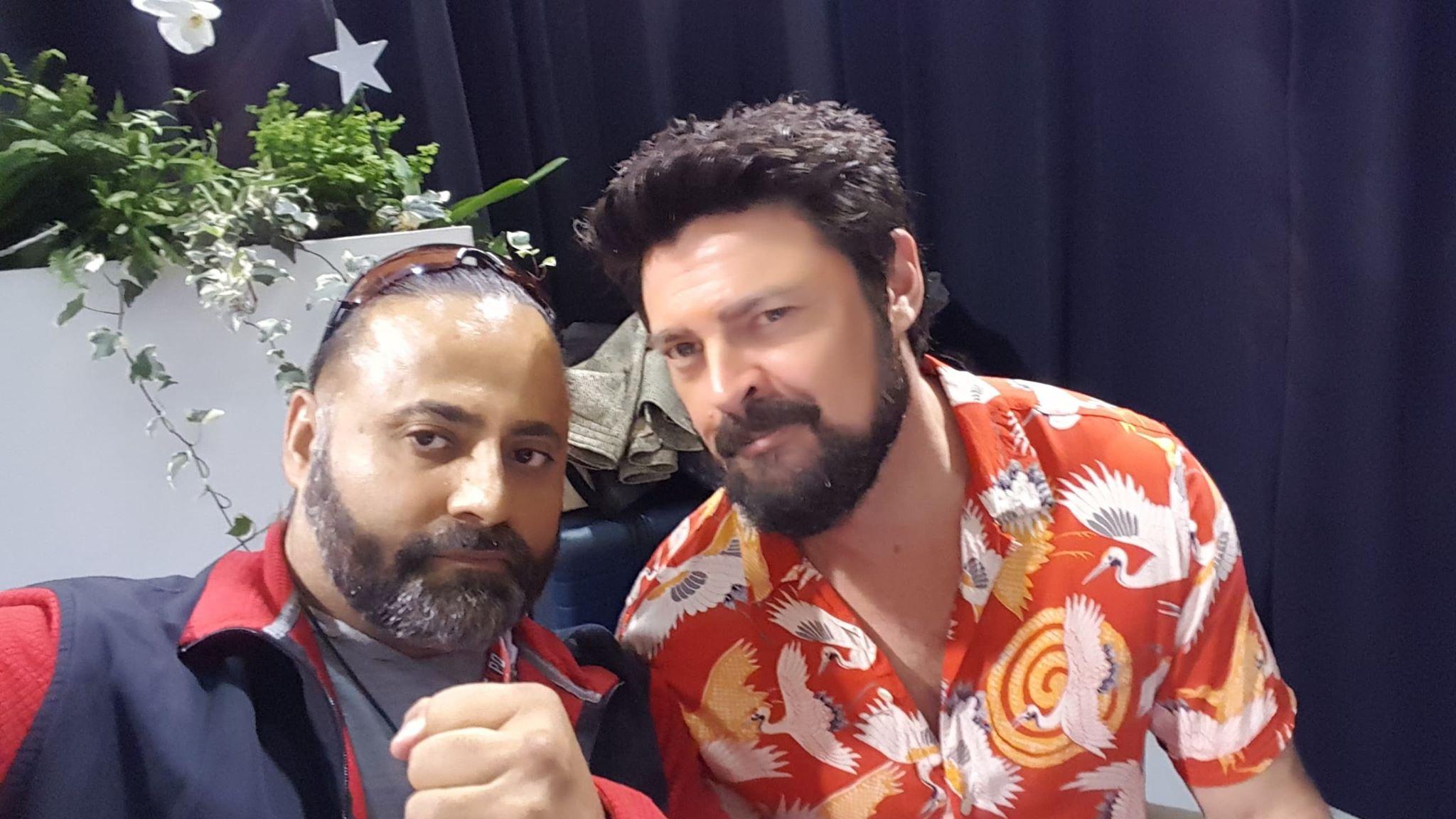 #Sunny Singh  and #KarlUrban