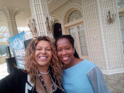 Suza and Regina King, Banff World Media Festival 2017