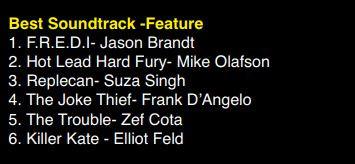 Best Soundtrack Feature Nomination AOF.J