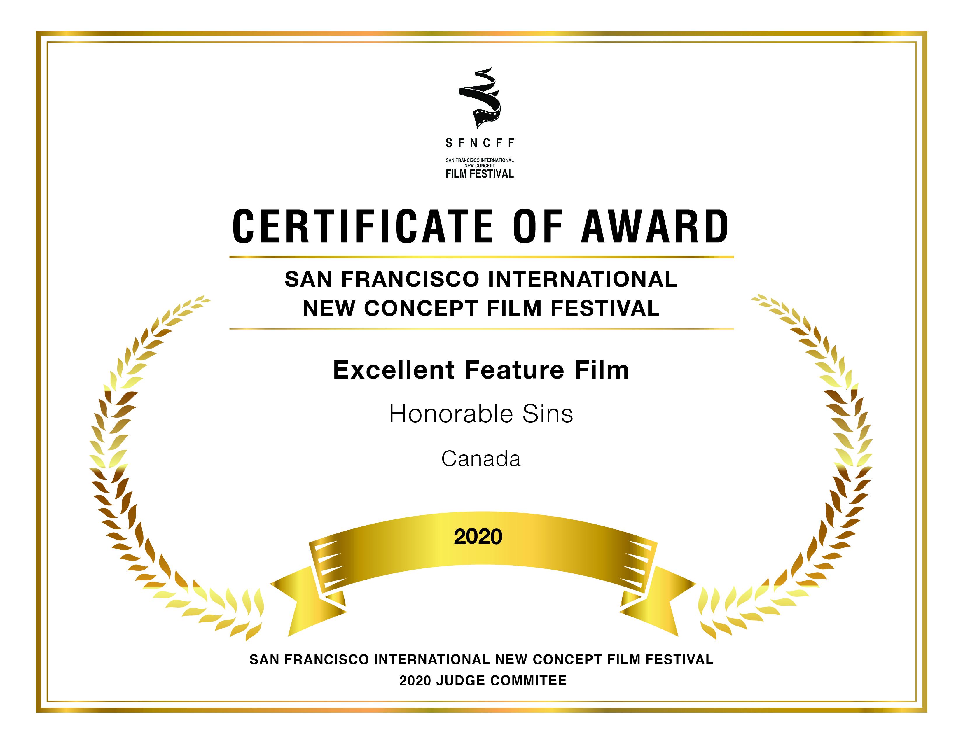 #ExcellentFilmAward