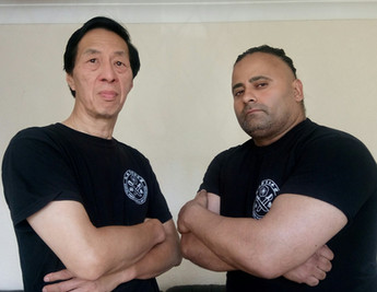 Legendary Samuel Kwok and Sunny Singh, UK