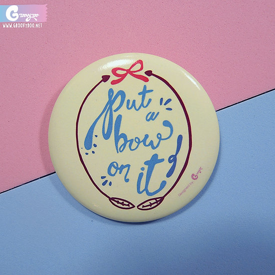 56mm Pin Button Badge