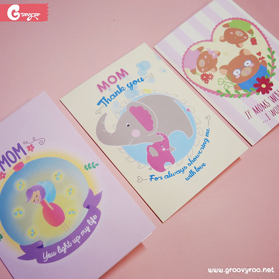 Cute & Kawaii Mother's Day Greeting Cards