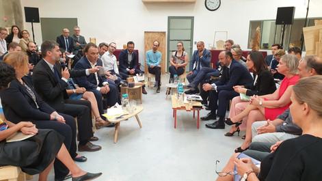 A Roubaix, Neo-Eco rencontre le premier ministre Edouard Philippe et la ministre de la transition éc