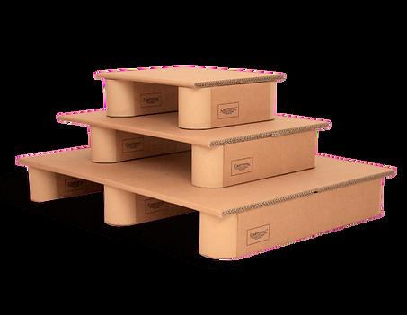 Gama pallets de cartón de Cartopal