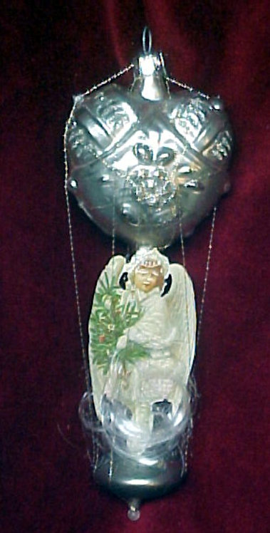 #5517-017 - Wire Wrapped Angel Heart Balloon