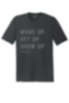 Black tri-blend shirt