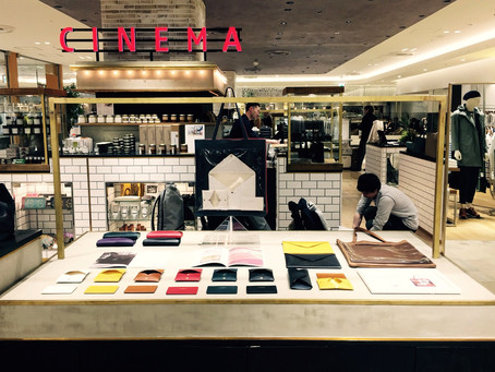 Pop-up Store at H.P.FRANCE CINEMA恵比寿 2017/3/1-3/31