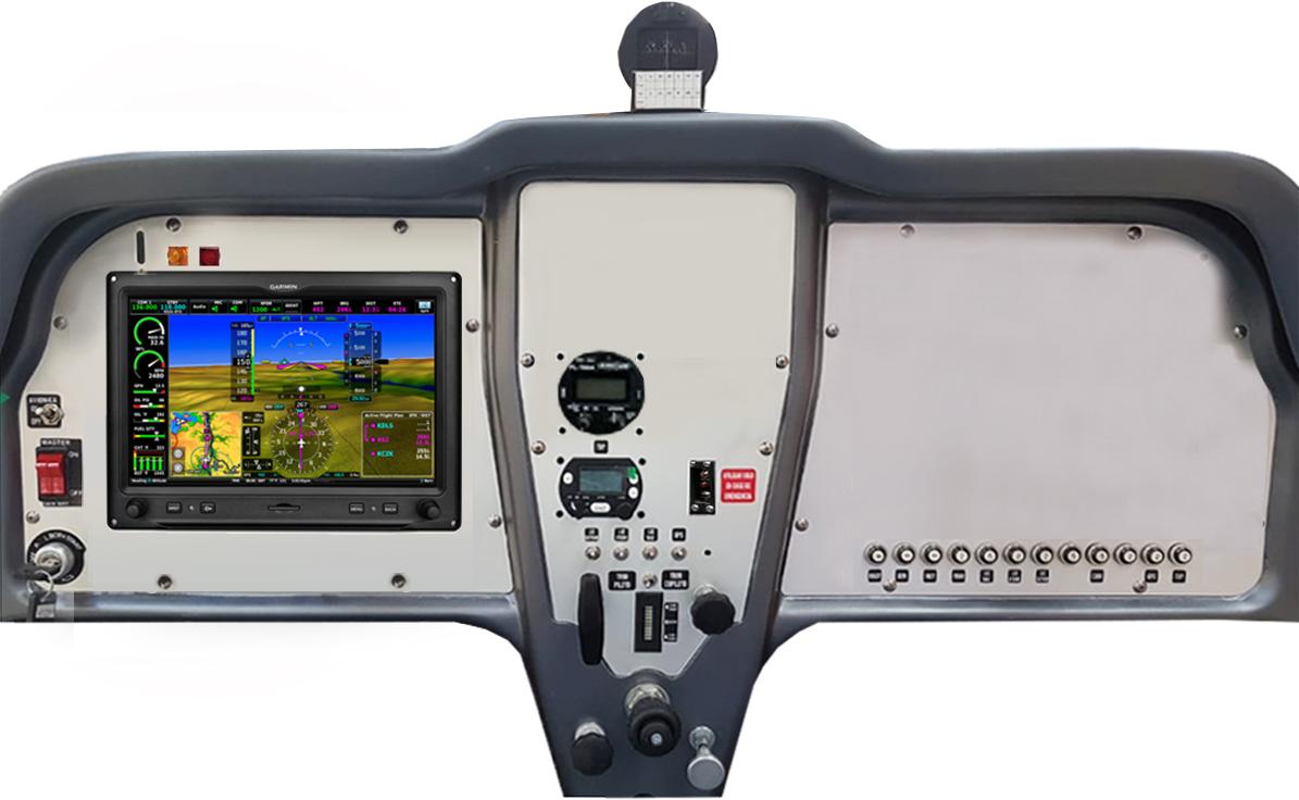 CABINA PETREL LSA VFR -1 GARMIN G3X +RAD