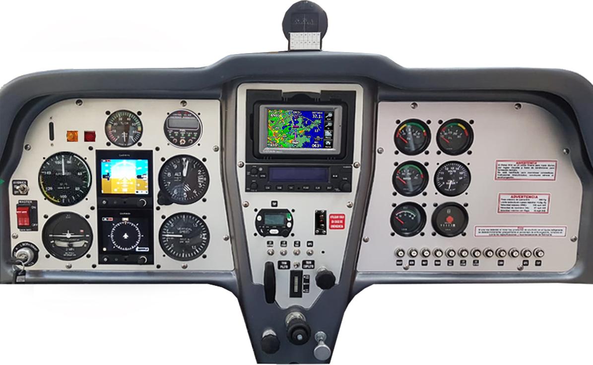 CABINA VLA IFR - 2 G5 + GNC255 + GPS AER