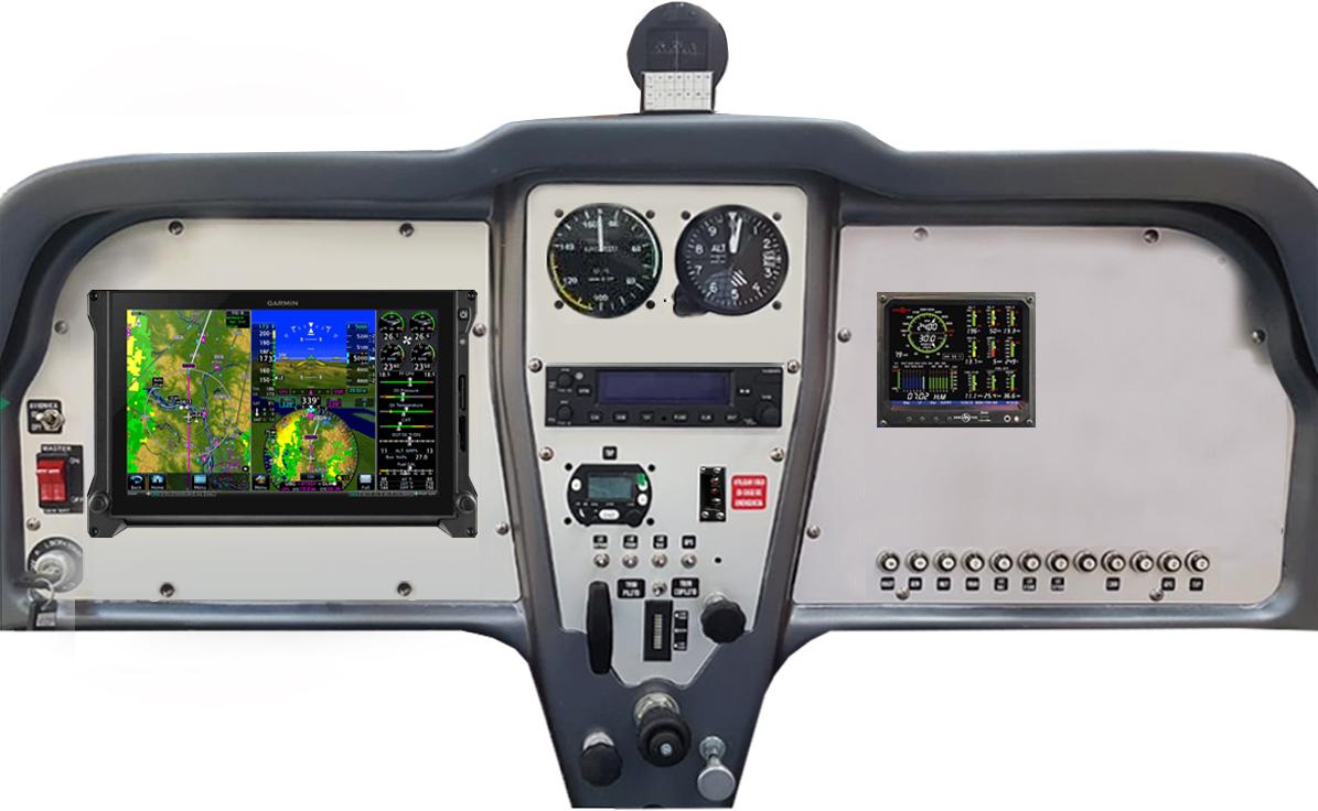 CABINA PETREL VLA IFR - 1 GARMIN G500 +