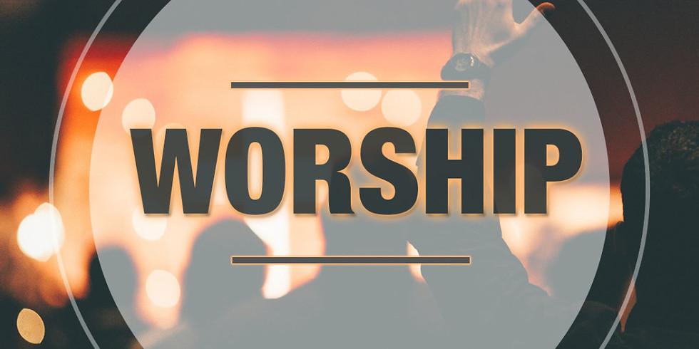 Worship with us on Sundays @ 10AM