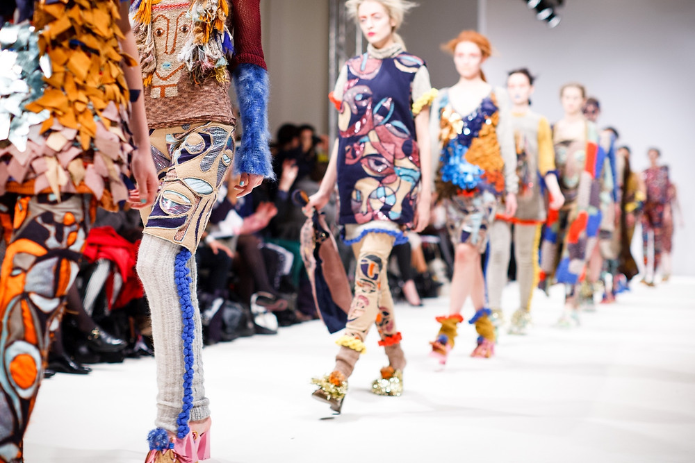 """Eco-conscious designers have begun to create using recoiled textiles, calling it """"up cycling""""."""