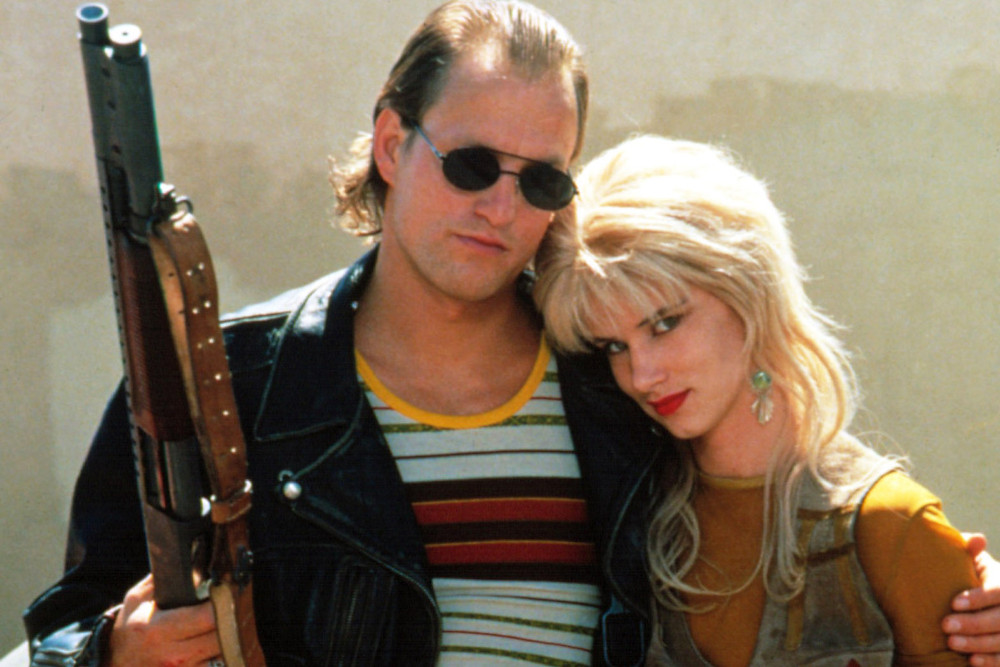 Natural Born killers, a movie following a couple on the run committing crimes