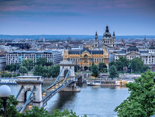 Inspiring us: Budapest