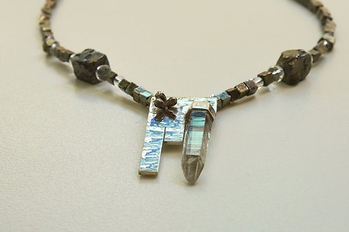 Quartz on the Rocks Necklace