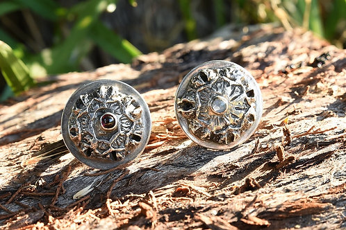 Eucalypt Button Ring
