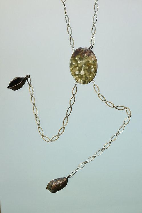 Great Gatsby Rocks Necklace