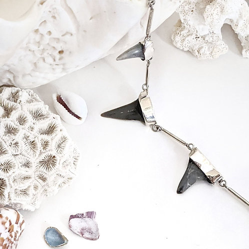 Shark teeth necklace