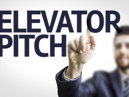 What's Your Elevator Pitch? Do You Even Have One?