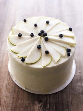 Honey Pear Cake