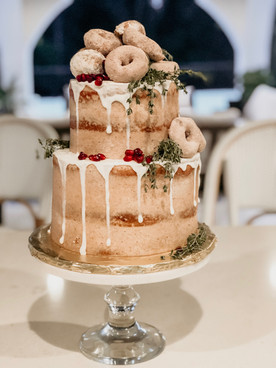 Snickerdoodle Tiered Cake