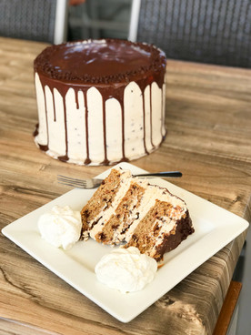 Oatmeal Chocolate Chip Cake