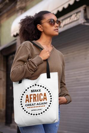 Tote bag Make Africa Great Again.png