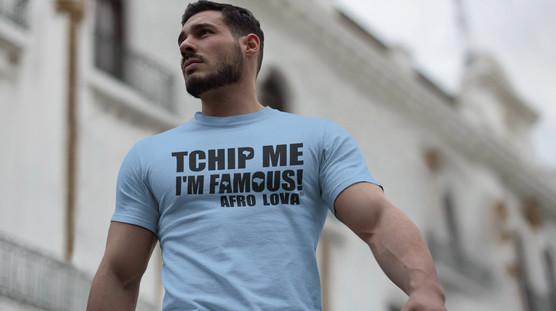 T-shirt Homme Tchip me