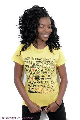 Tshirt hiéroglyphes