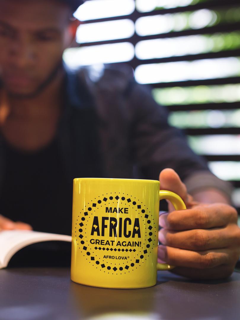 Tasse Make Africa great again