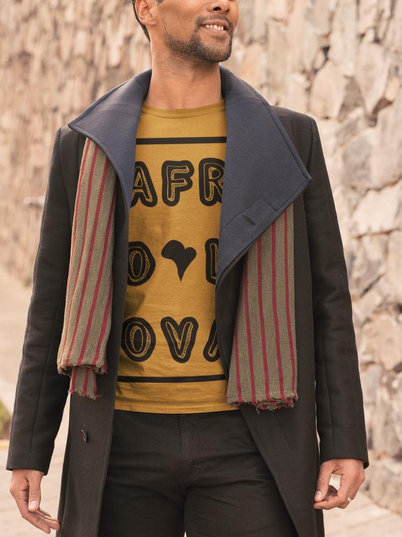 T-shirt Afro Lova rectangle