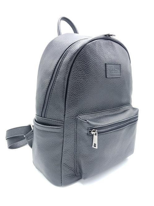 Tumbled leather backpack - rucksack art. 292