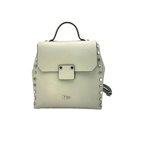 Tumbled genuine leather backpack art. 253
