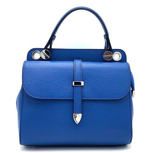 Tumbled genuine leather handbag art. 233