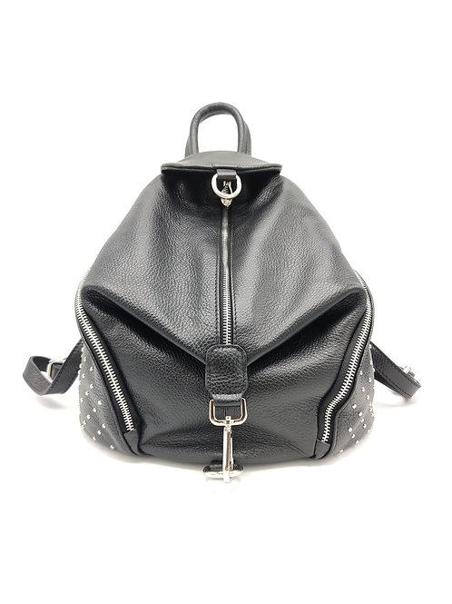 Tumbled genuine leather backpack art. 286