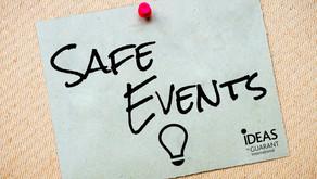 Bezpečností pravidla pro akce během pandemie COVID-19