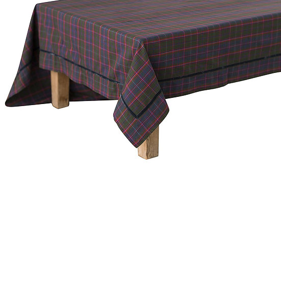 Tablecloth Tartan 180x275cm & Napkins