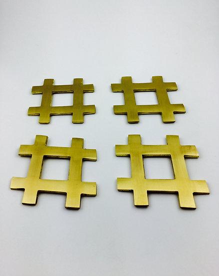 Hashtag Coaster Hashtag