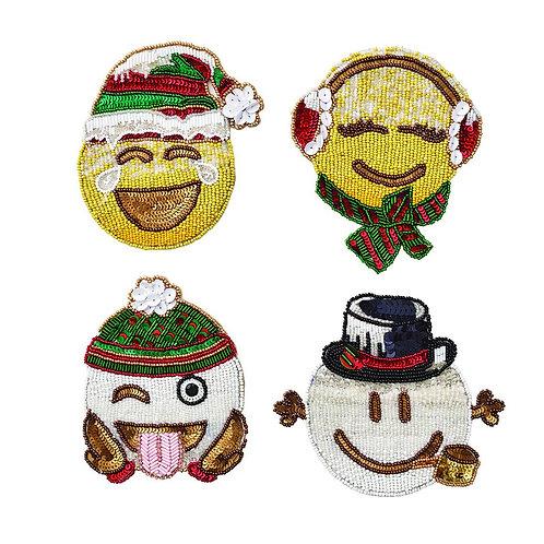 Emoji Coasters (Set of 4 pieces)