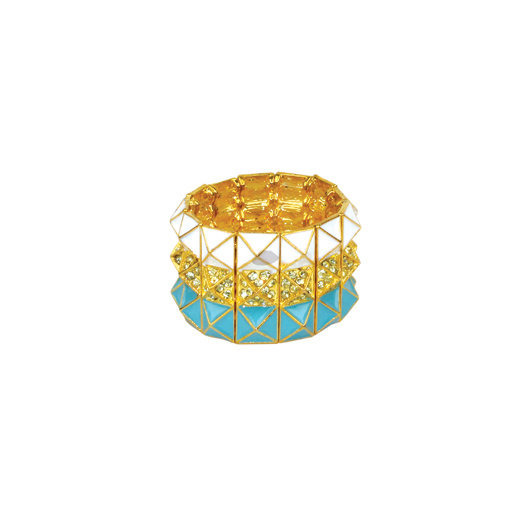 Napkin Ring Pop Seafood Citron (set for 8 persons)