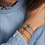 Thumbnail: Evil Eye Bracelet by Lily Gabriella