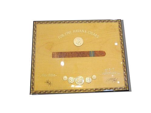 Cigar Box Elie Bleu