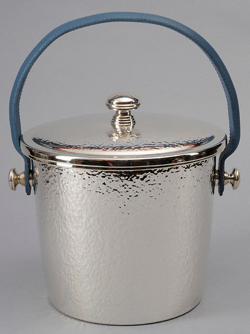 Handhammered Covered Ice Bucket