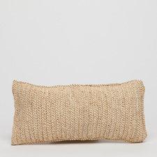 JASPER Pillow Raffia Woven 20x10